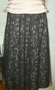 Express lace overlay skirt size 4